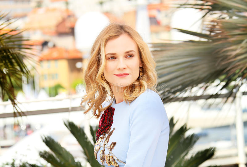 Diane Kruger. Attends the 'Disorder' photocall during the 68th annual Cannes Film Festival on May 16, 2015 in Cannes, France stock image