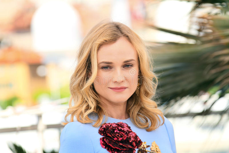 Diane Kruger. Attends the 'Disorder' photocall during the 68th annual Cannes Film Festival on May 16, 2015 in Cannes, France royalty free stock images