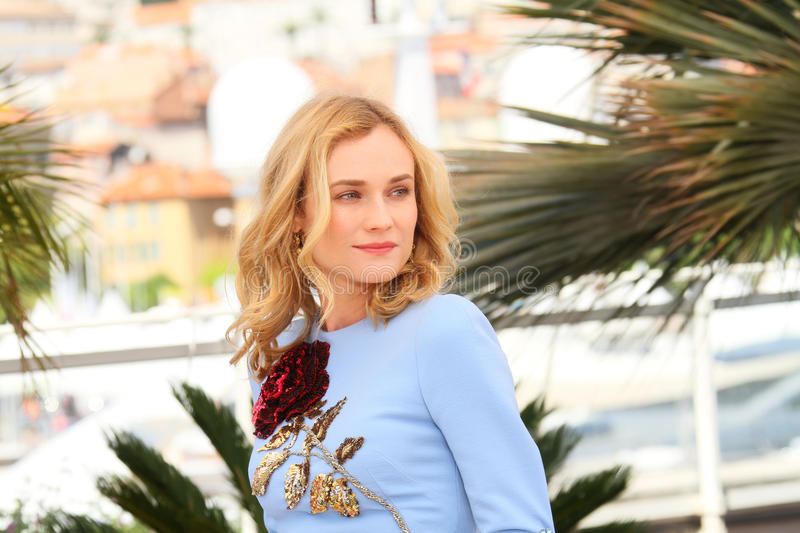 Diane Kruger. Attends the 'Disorder' photocall during the 68th annual Cannes Film Festival on May 16, 2015 in Cannes, France stock photo