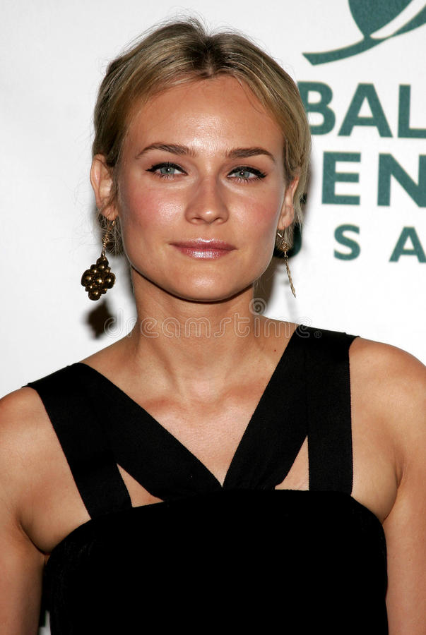 Diane Kruger. Attends the Global Green USA Pre-Oscar Celebration to Benefit Global Warming held at the The Avalon in Hollywood, California on February 21, 2007 royalty free stock photography