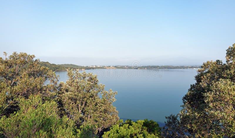 Diane See in Korsika-Insel lizenzfreies stockbild