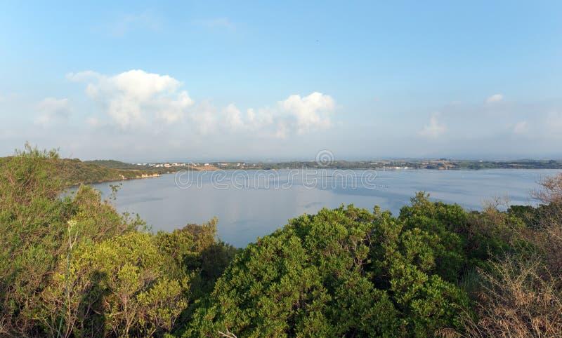 Diane See in Korsika-Insel stockbild