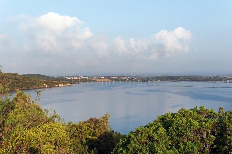 Diane See in Korsika-Insel stockfotografie