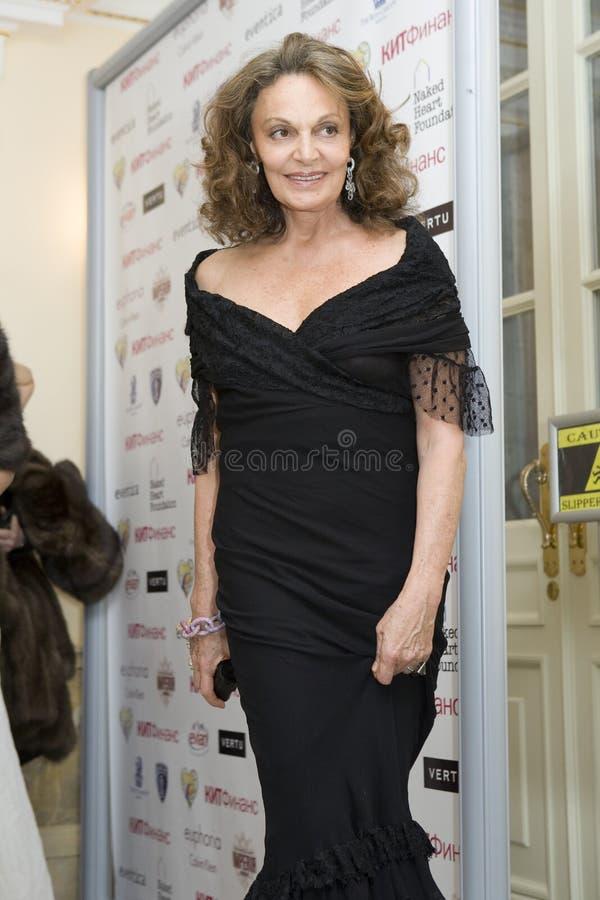 Diane von Furstenberg royalty free stock photos