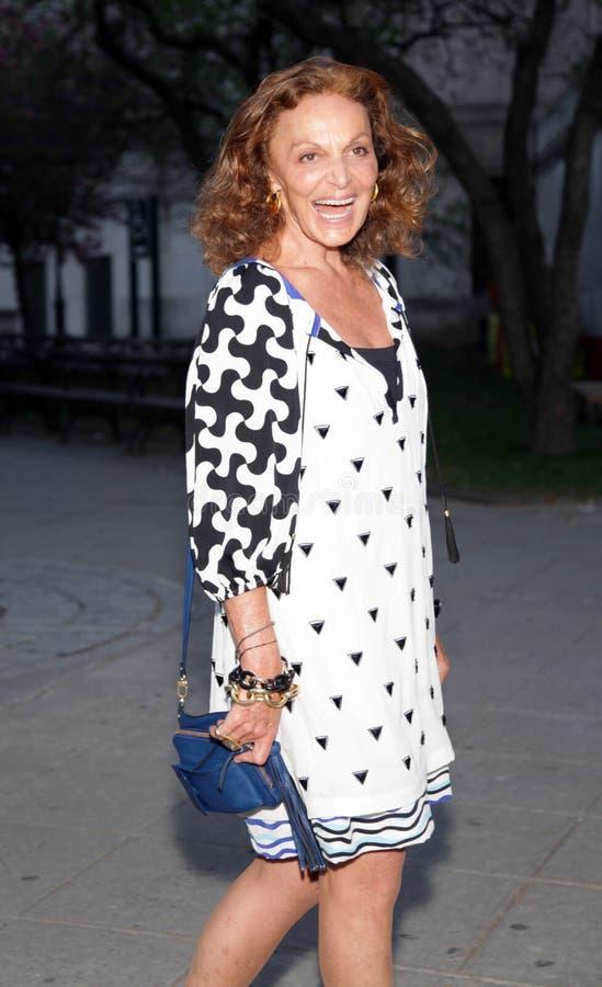 Diane von Furstenberg royalty free stock images