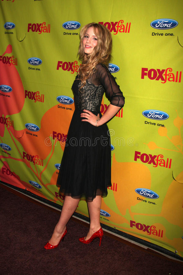 Dianna Agron. Arriving at the FOX-Fall Eco-Casino Party at BOA Steakhouse in West Los Angeles, CA on September 14, 2009 stock photography