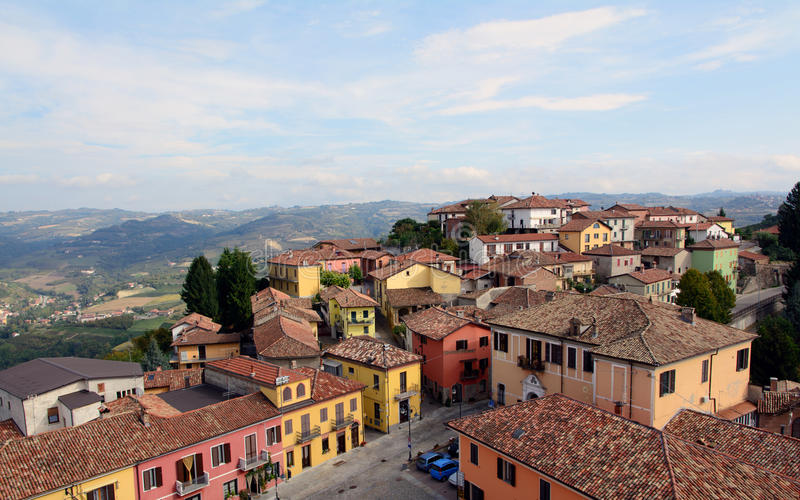Download Diano d'Alba stock image. Image of living, village, langhe - 33984515