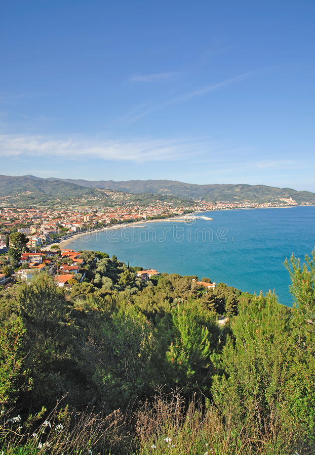 Download Diano-Marina,italian Riviera Stock Image - Image: 23190253