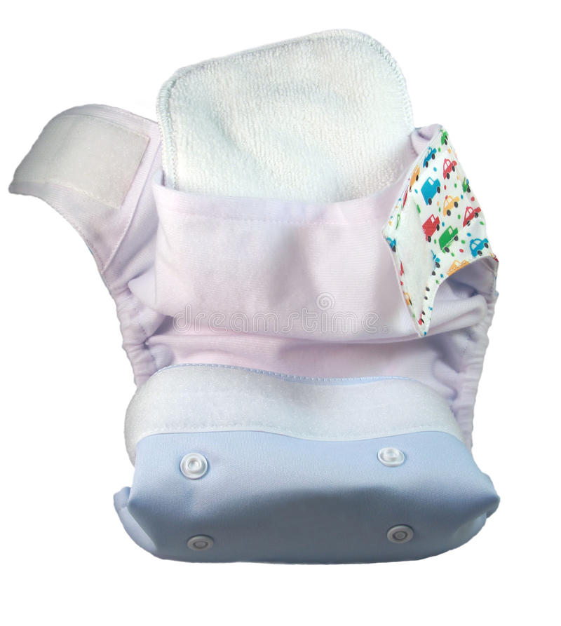 Diaper for baby stock images