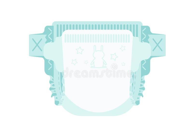 Diaper vector illustration
