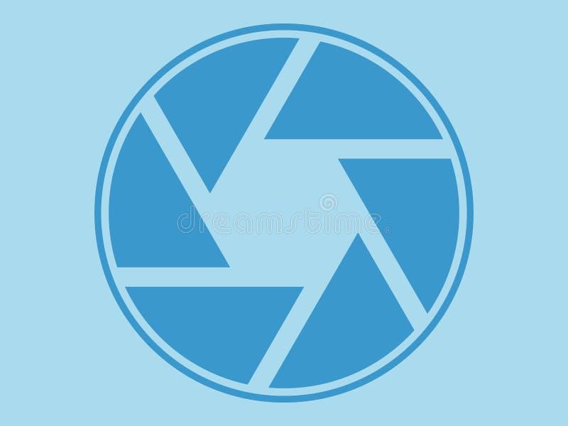 Diaphragm icon, illustration, minimal design. Diaphragm icon, illustration, flat vector illustration