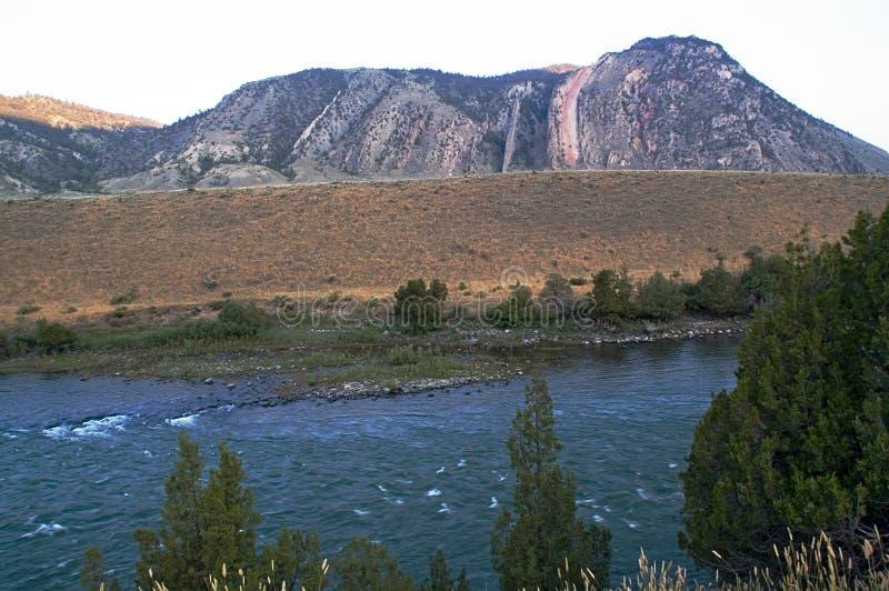 Diapositiva de los diablos en Montana fotografía de archivo