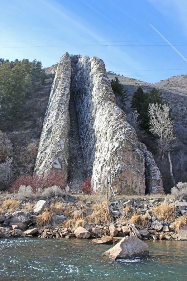 Diapositiva de los diablos, Utah fotos de archivo