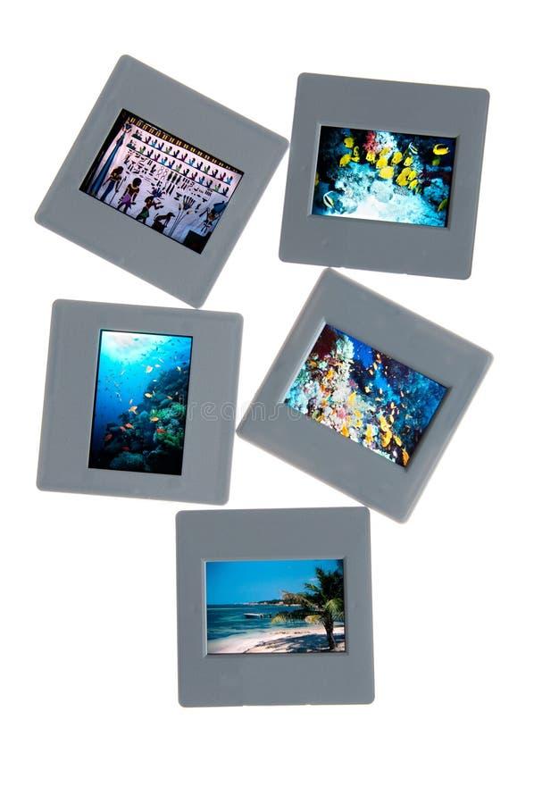 Diapositivas fotografía de archivo libre de regalías