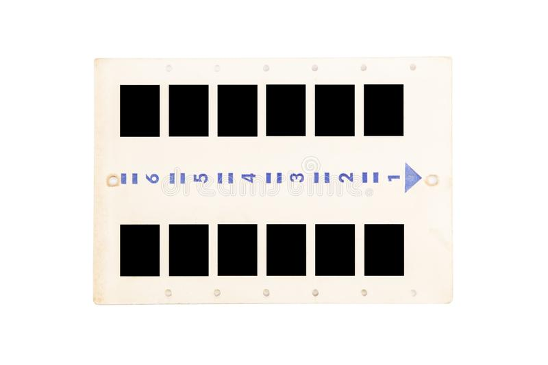 Diapositivas de la foto foto de archivo libre de regalías
