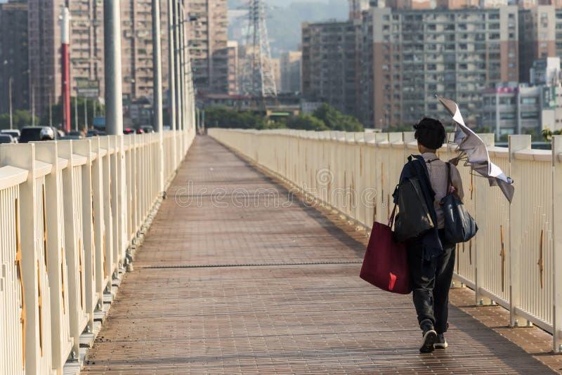 Diario de la ciudad de Taipei imagen de archivo libre de regalías