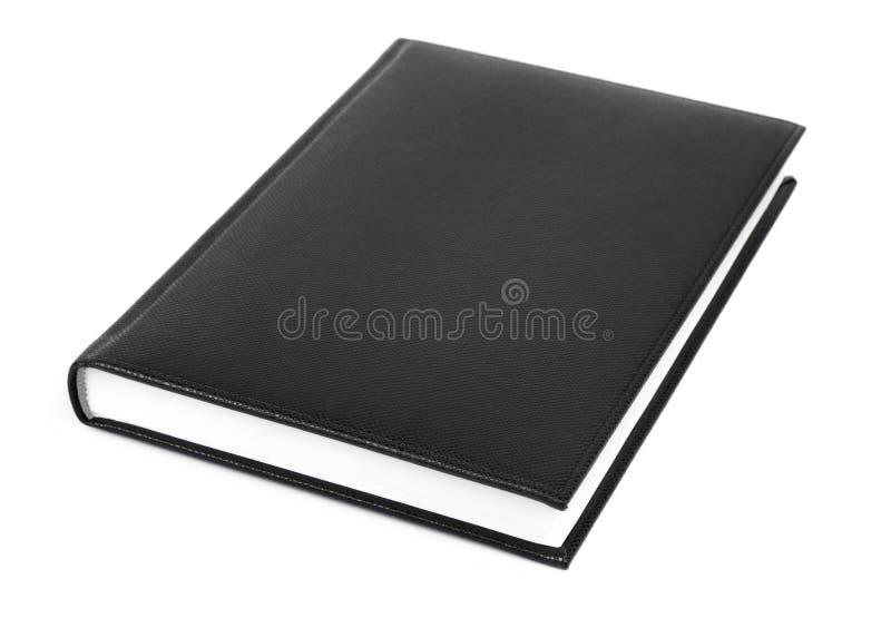 Diario negro fotos de archivo