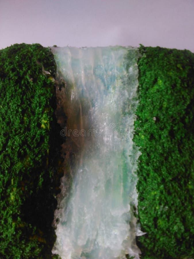 Diaroma-Wasserfall stockbild