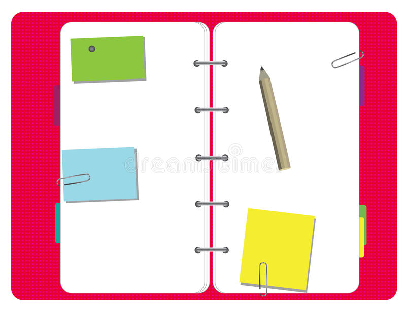 Download Diary stock illustration. Illustration of school, write - 16279862