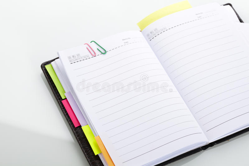 Diary Royalty Free Stock Photos