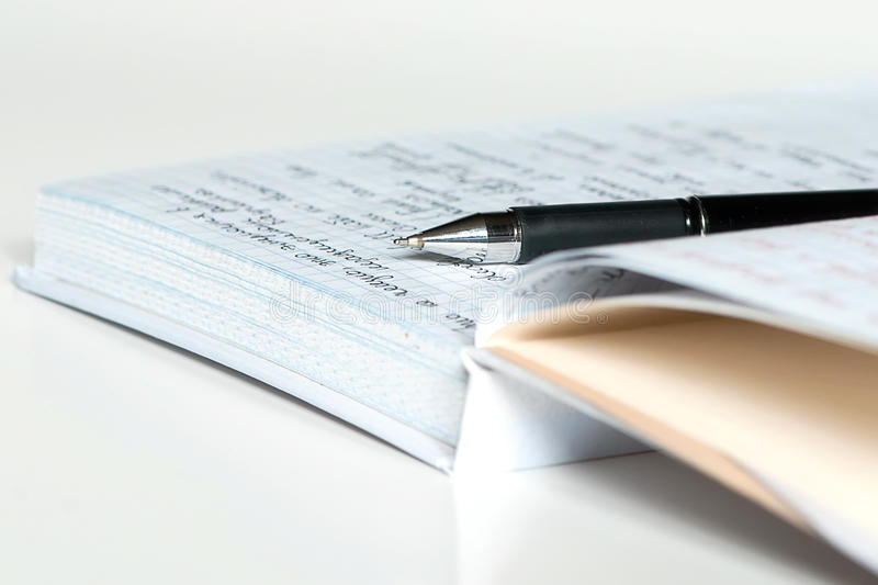 Download Diary and pen stock image. Image of hand, meeting, education - 15953235