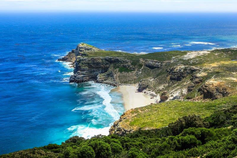 Dias Beach aerial view royalty free stock photo