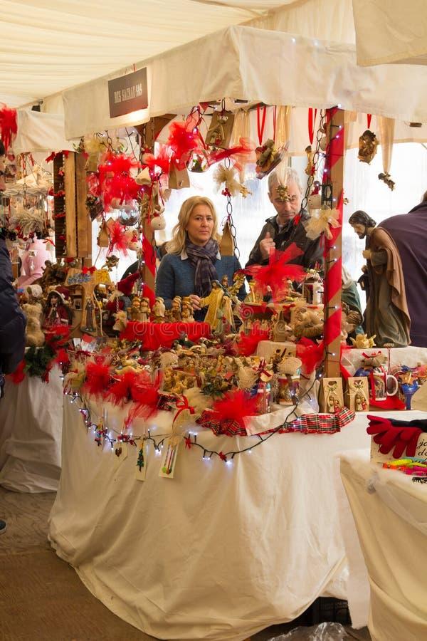 Dias de Natal em Assisi foto de stock