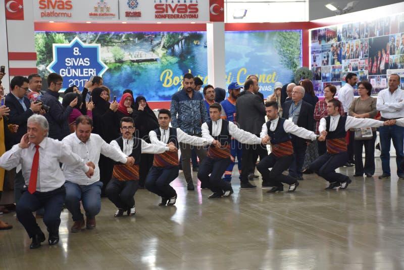 Dias 2017 de Sivas Ä°stanbul, Turquia imagem de stock royalty free