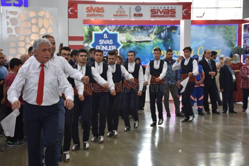 Dias 2017 de Sivas Ä°stanbul, Turquia foto de stock