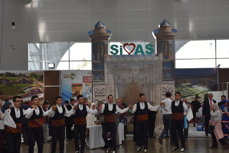 Dias 2017 de Sivas Ä°stanbul, Turquia fotografia de stock royalty free