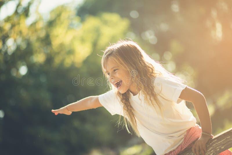 Dias despreocupados da infância imagens de stock royalty free