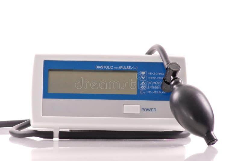 diastolic maskintryck för blod royaltyfria foton