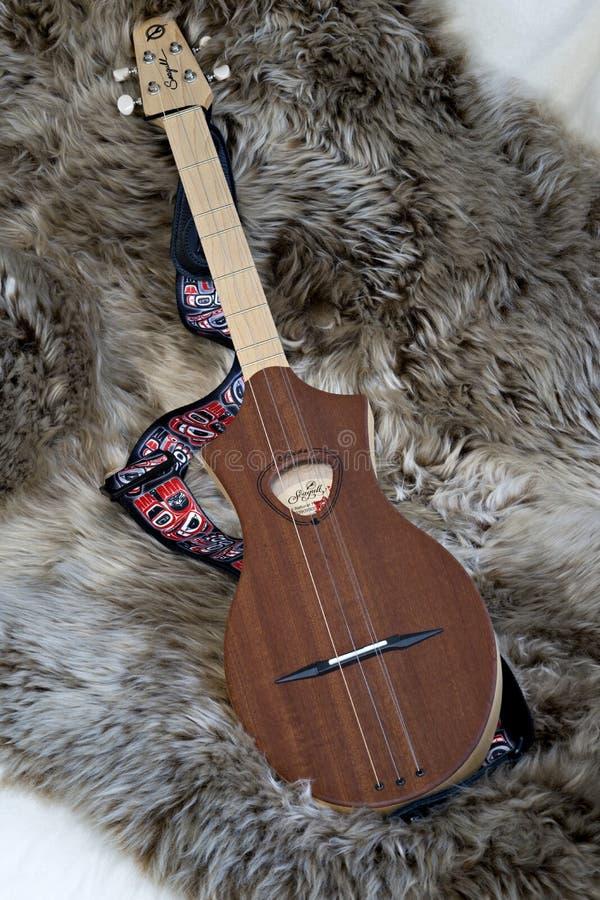 Diatonisch Snaarinstrument - Merlin stock foto's