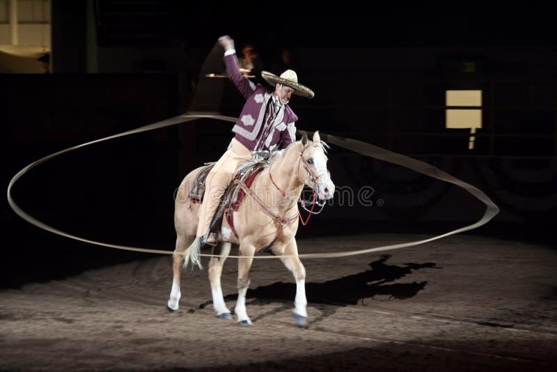 diaz western krajowy przedstawienie zapasu western fotografia stock