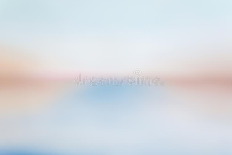 Dibujo abstracto de la pintura azul, roja y blanca fotos de archivo