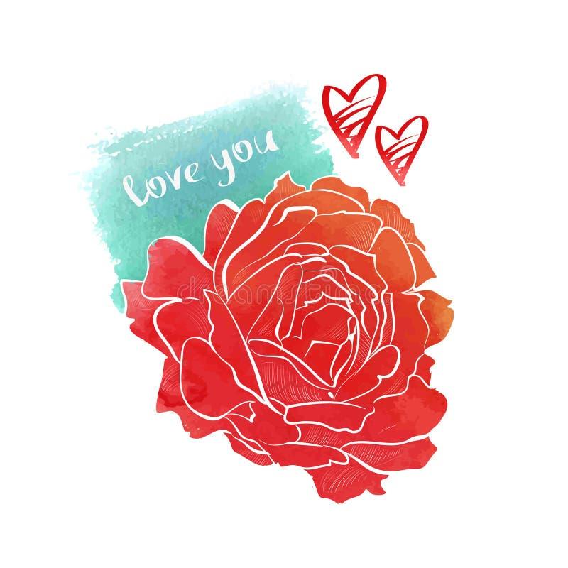 Rosa Dibujo Color 1081 Loadtve