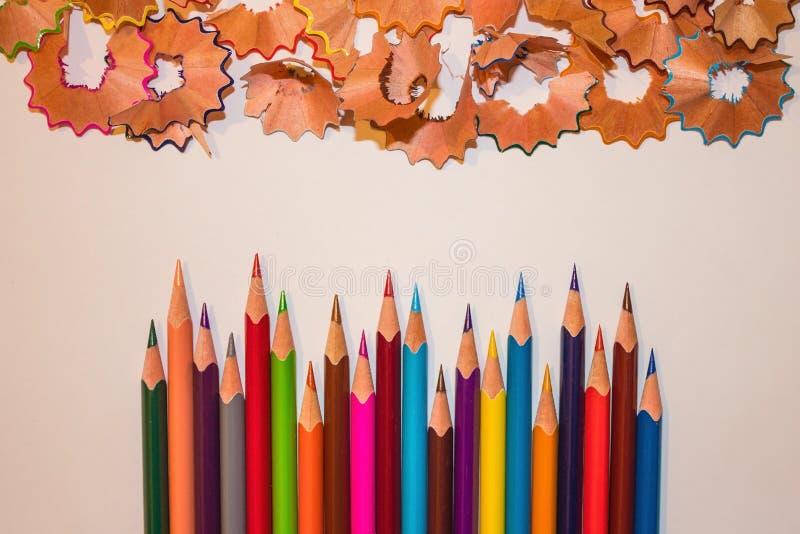 Dibujo, creatividad del ` s de los niños foto de archivo