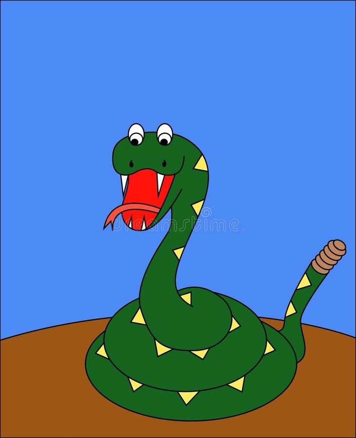 Dibujo de la serpiente fotos de archivo libres de regalías