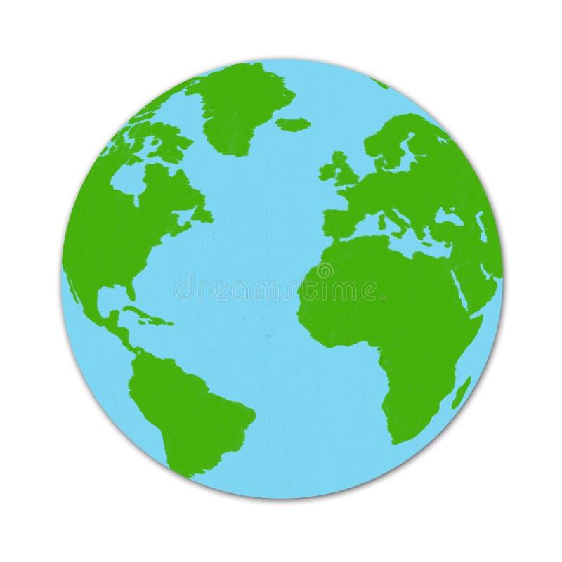 Dibujo del mapa del mundo stock de ilustraci n ilustraci n de memoria 39521793 - El mundo del papel pintado coruna ...