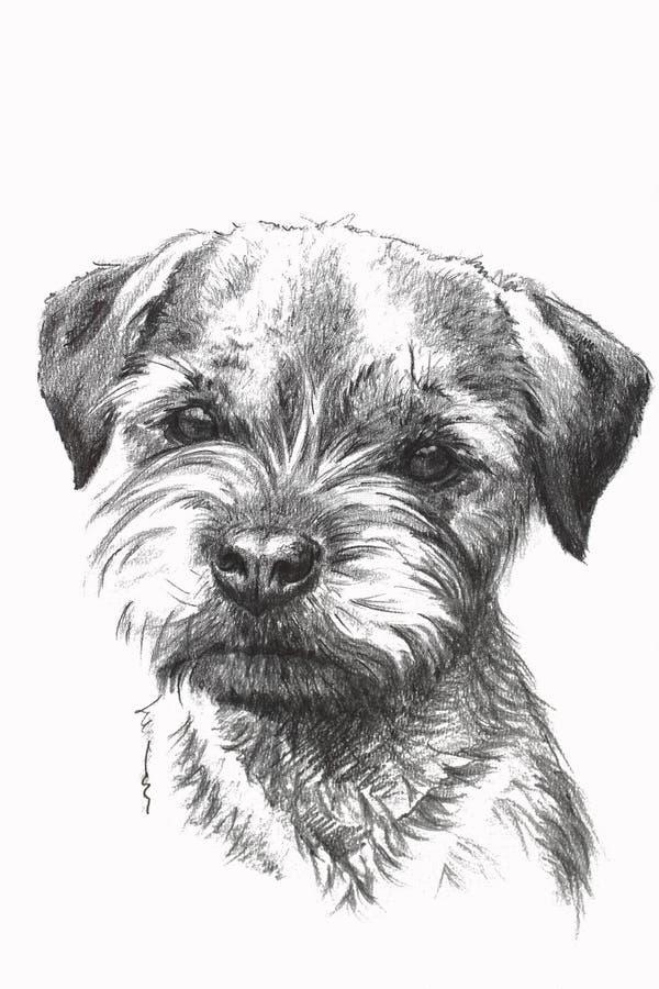 Dibujo del perrito ilustración del vector