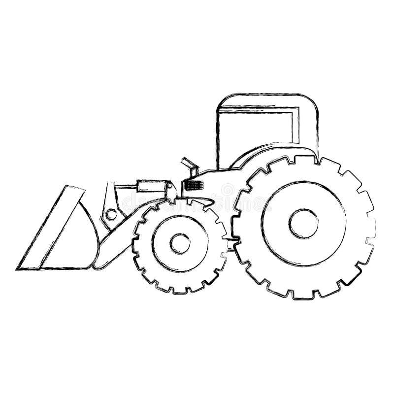dibujo monocrom u00e1tico de la mano del contorno del cargador