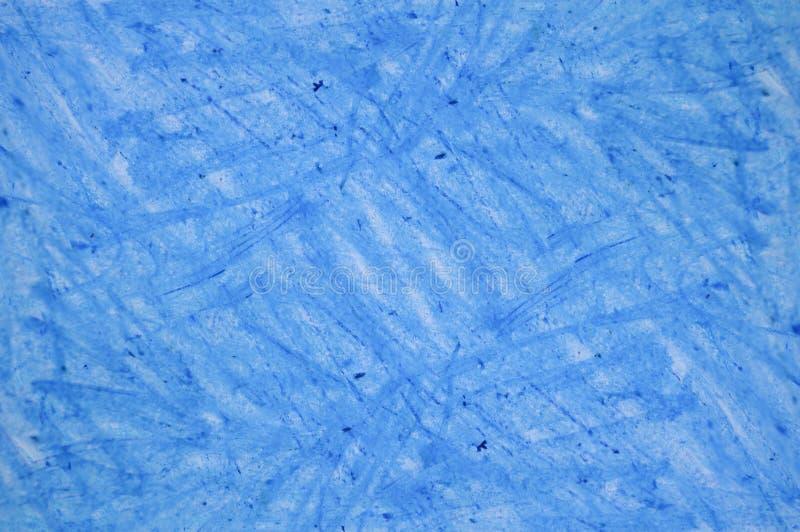 Dibujos de creyón azules en textura del fondo del Libro Blanco imagenes de archivo