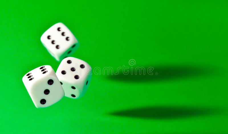 Download Dice stock image. Image of bets, green, backgrounds, risk - 16386525