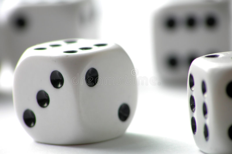 Dice royalty free stock image