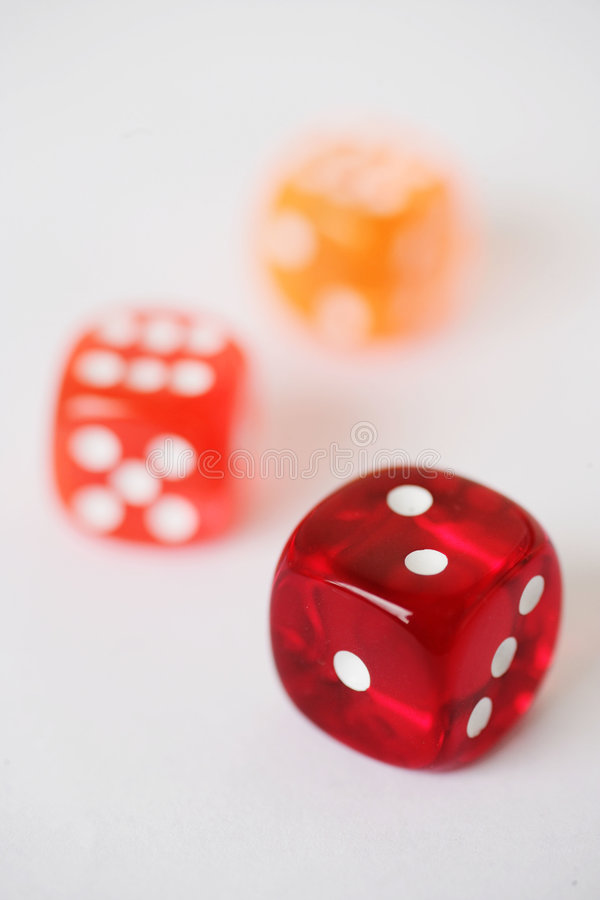 Dice stock images