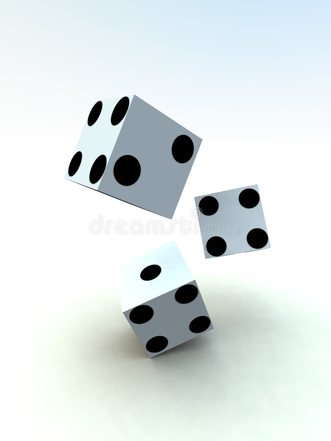 Free Dice 5 Royalty Free Stock Images - 1839189