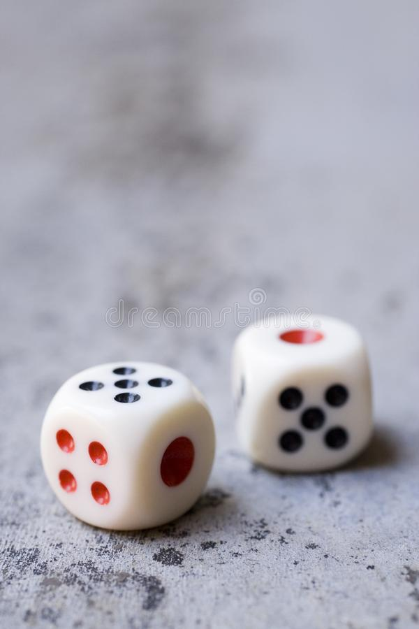 Download Dice stock photo. Image of blur, game, plastic, dots, black - 5485240