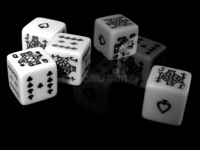 dice στοκ φωτογραφία