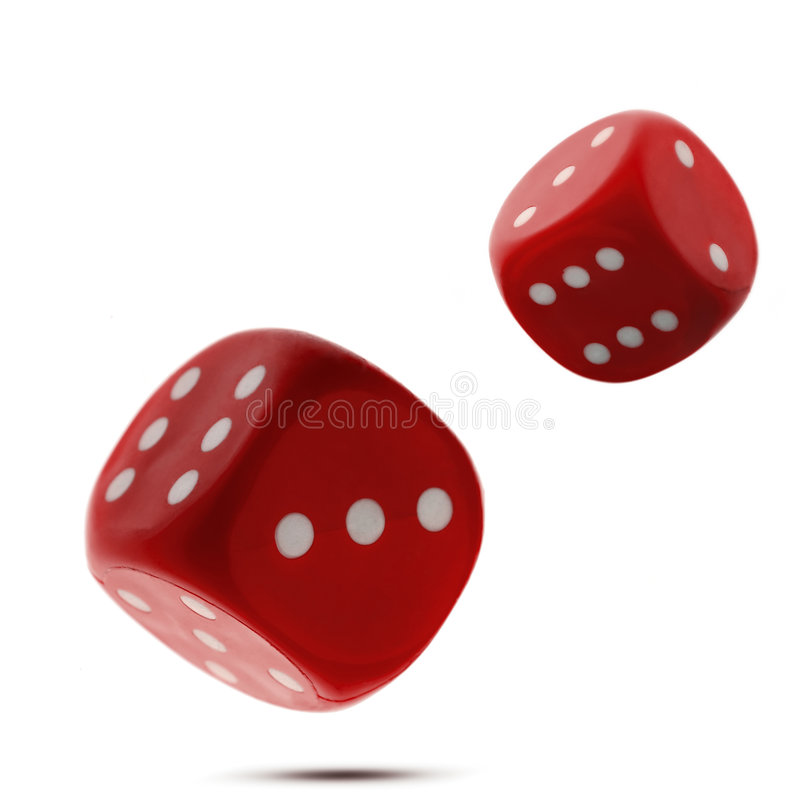 Download Dice stock photo. Image of hazard, isolated, dots, stacked - 851750
