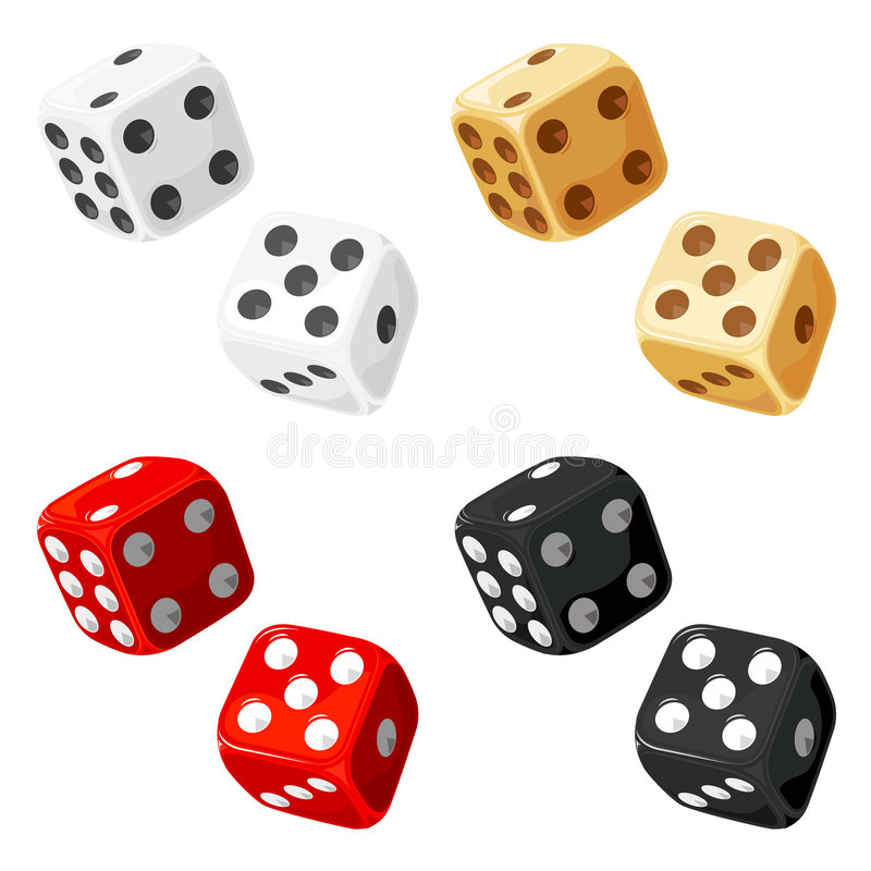 Download Dice stock vector. Image of number, fortune, activity - 8771221